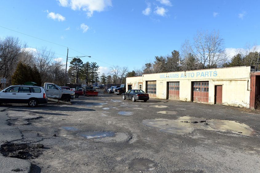 The former Williams Auto Parts site.