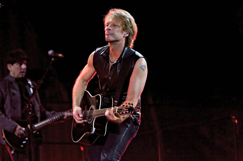 Bon Jovi performs at Meadowlands Stadium in Rutherford, N.J., on May 26, 2010.