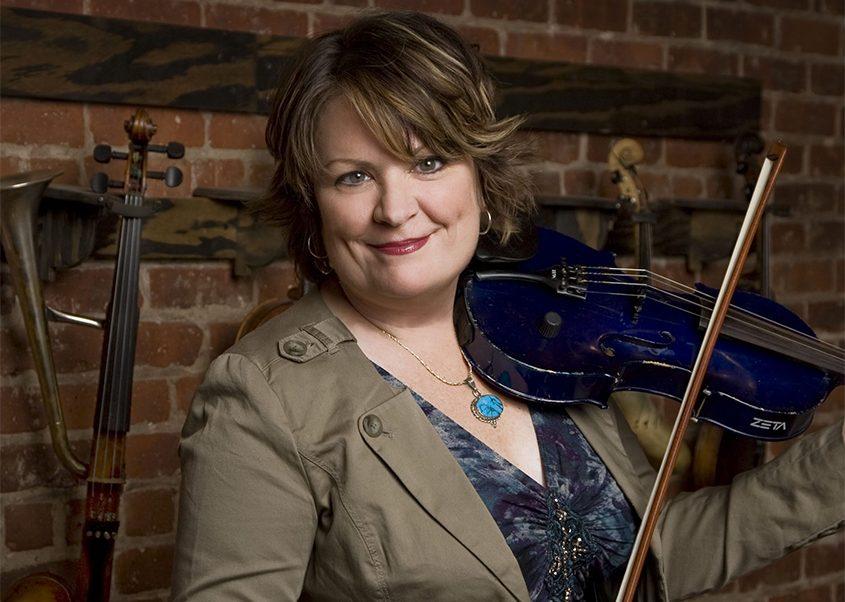 "Eileen Ivers presents her ""Joyful Christmas"" show tonight at the Troy Savings Bank Music Hall."