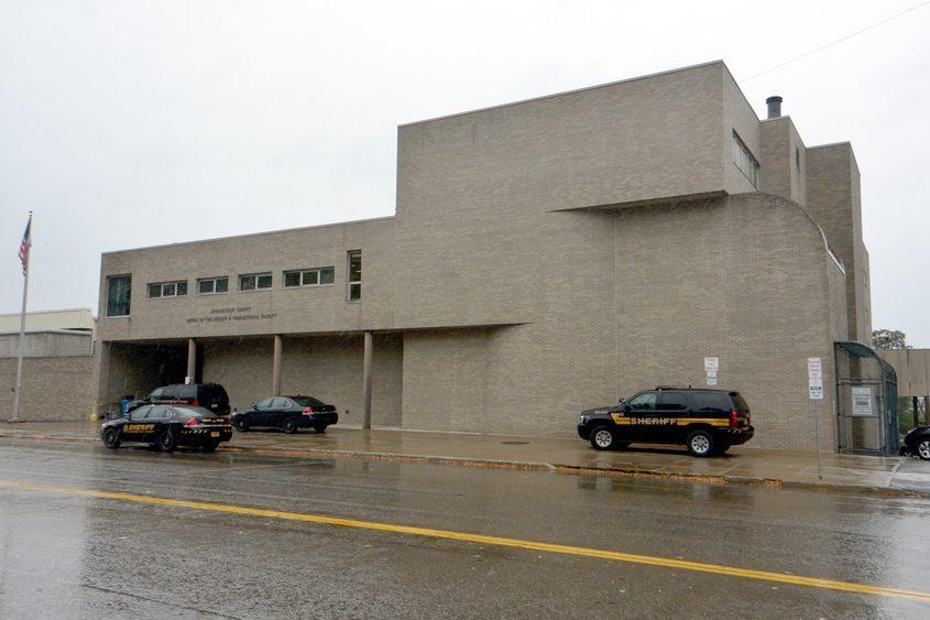 Schenectady County jail on Veeder Avenue.