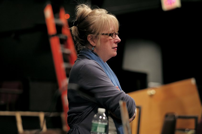 Maggie Mancinelli-Cahill, the Capital Repertory Theatre's producing artistic director.