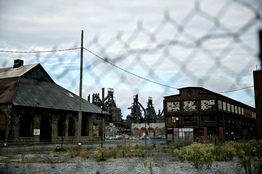 The Bethlehem Steel plant, whose parent company went bankrupt in 2001, in Pennsylvania.