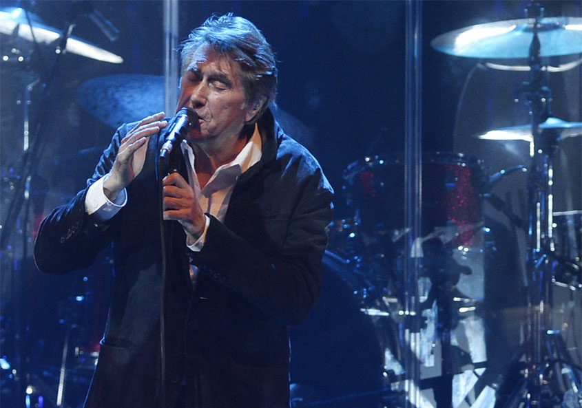 Bryan Ferry gave a memorable performance at Proctors in March.