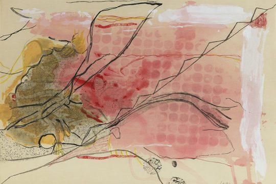 "Helen Frankenthaler's ""Weeping Crabapple"" was among works on exhibit at the Clark Art Institute."
