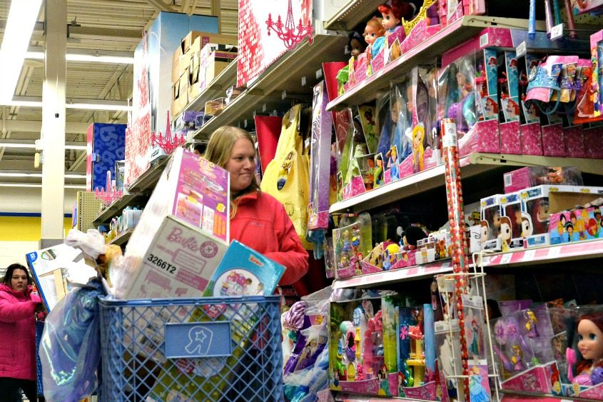 The Toys R Us in Clifton Park on Black Friday 2017.
