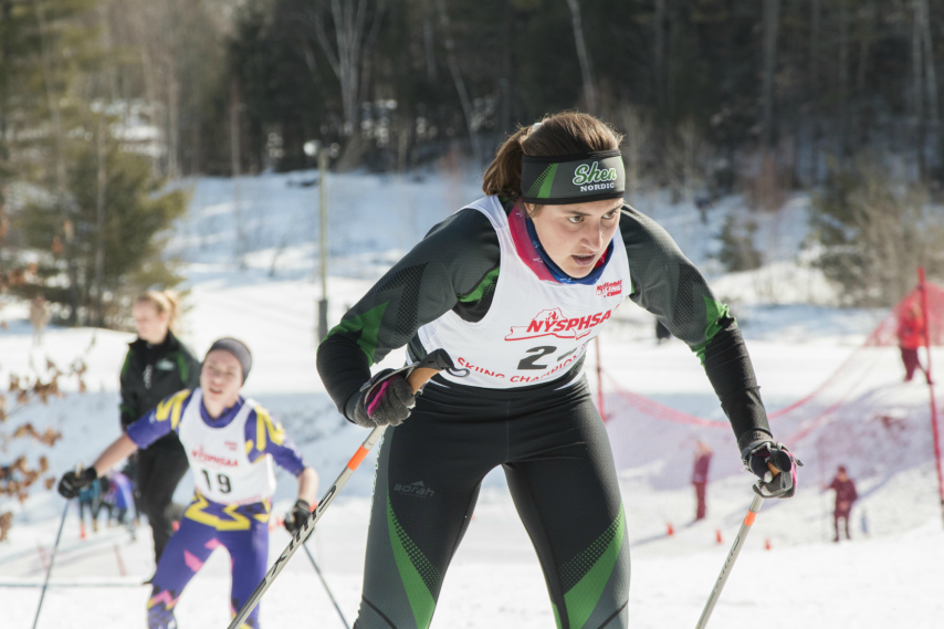 Cold weather and snow-making has given scholastic skiers a head start.