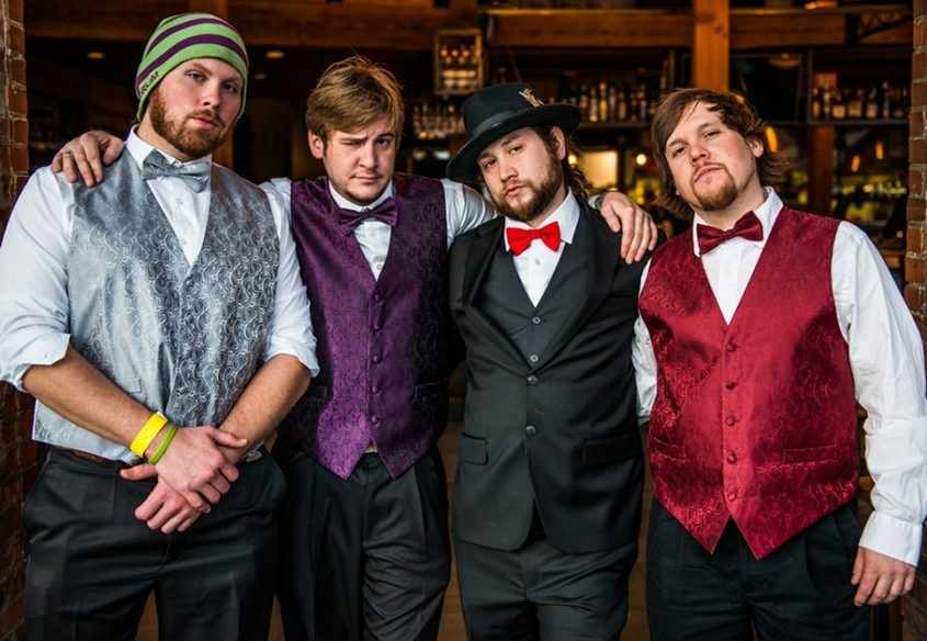 The group Twiddle hails from Castleton, Vermont.