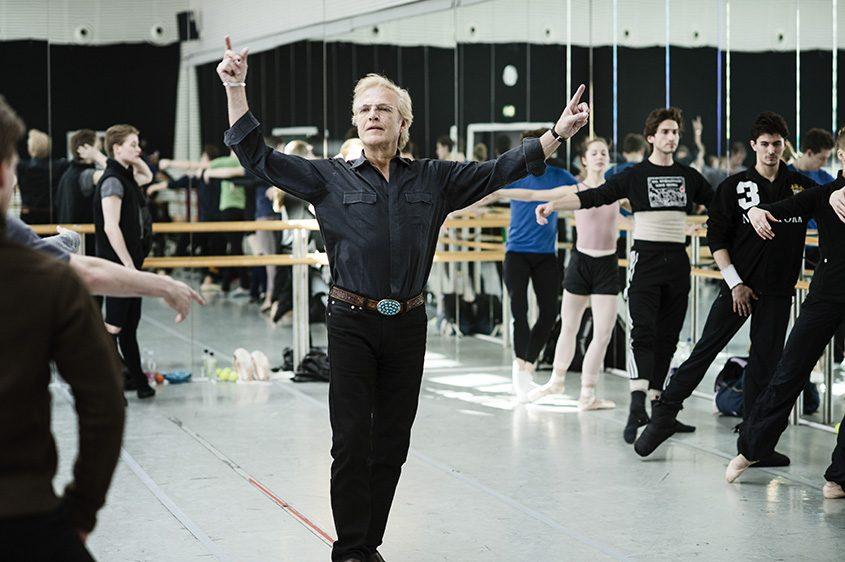 Peter Martins, the leader of the New York City Ballet, during a rehearsal in Copenhagen, Denmark, on April 4, 2013.