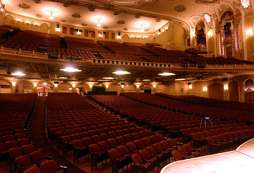 The interior of the Palace Theatre on Clinton Avenue in Albany.