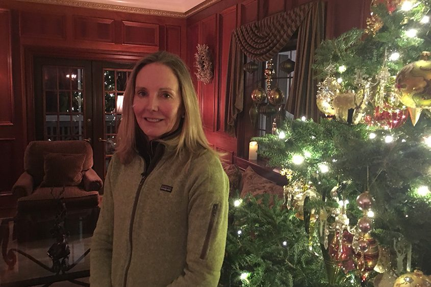 Lisa Weibrecht, formerly of Glenville, is seen at The Mirror Lake Inn in Lake Placid. She is Olympian Andrew Weibrecht's mother.