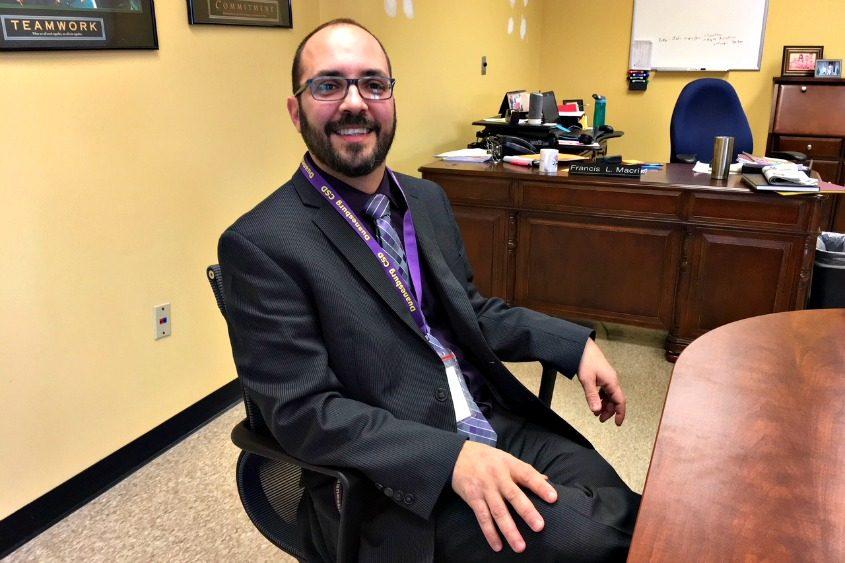 Frank Macri, Duanesburg's new schools superintendent.