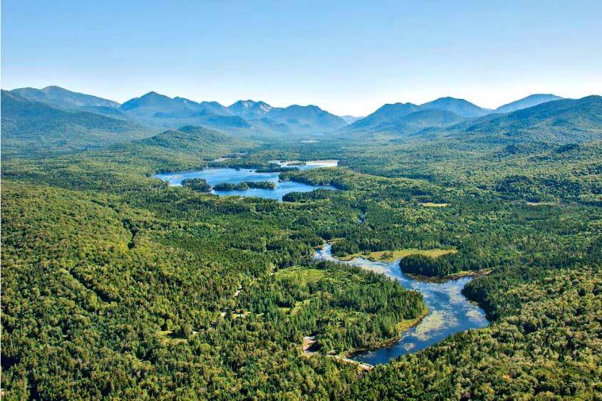 The Boreas Ponds tract in the Adirondacks.
