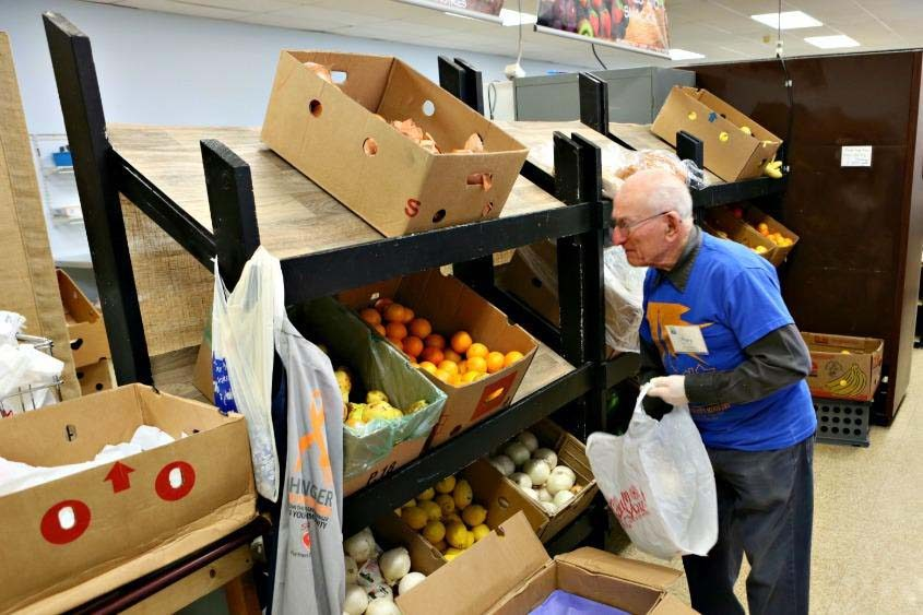 Charities like the Schenectady Inner City Ministry food pantry could be hurt by the new tax plan.