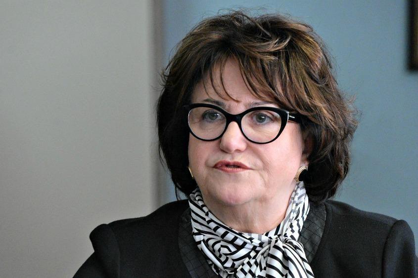State Education Commissioner MaryEllen Elia.