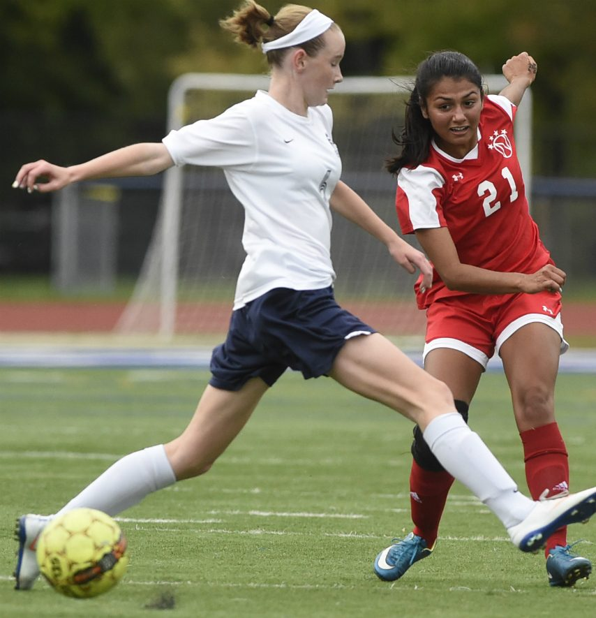 Defender Caroline Canty of Schenectady helped the Alleycats achieve a No. 1 national ranking.
