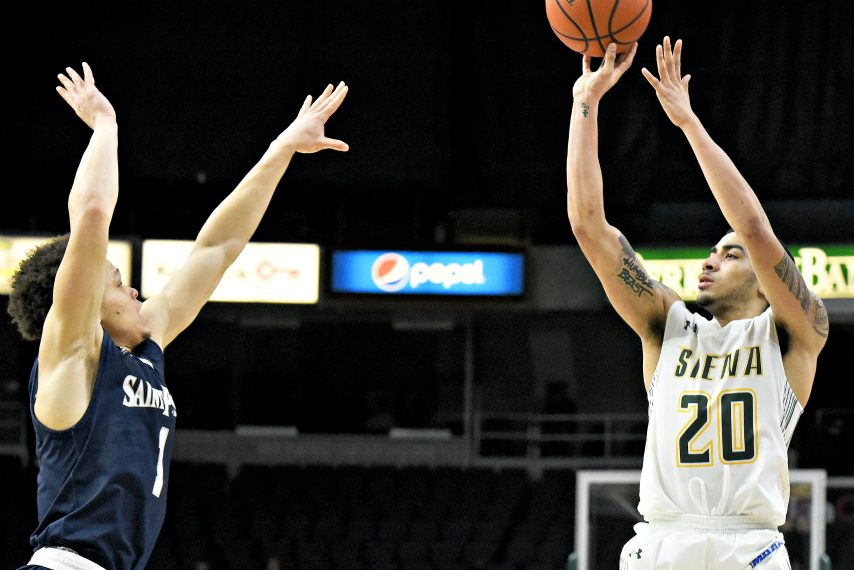 Siena freshman Roman Penn will miss the rest of the 2017-18 season.