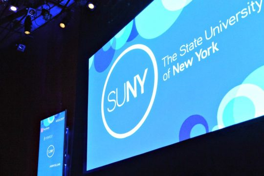 The court filing argues the State University of New York overstepped its authority.