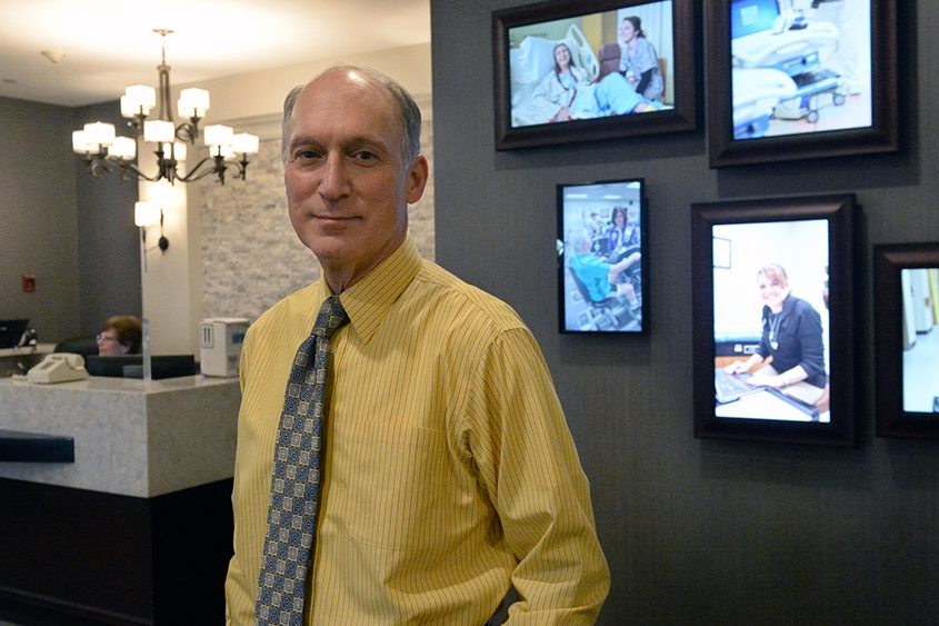 Vic Giulianelli is CEO at St. Mary's Healthcare in Amsterdam.