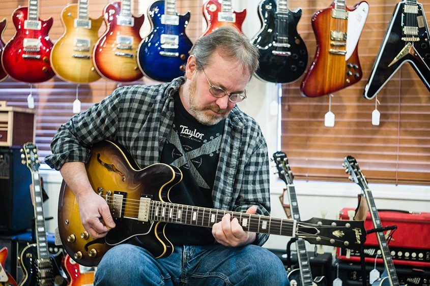 Thomas Murphy is co-founder of Parkway Music in Clifton Park.