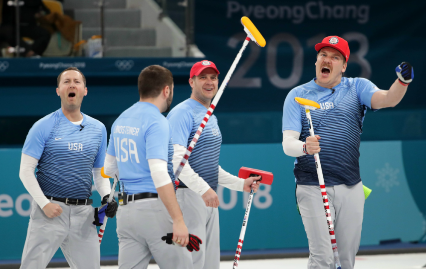 After beating Canada Thursday, the U.S. men's curling team will play for gold for the first time.