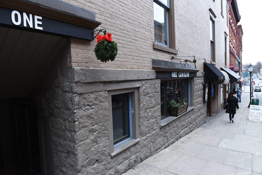 One Caroline Street, a live music venue, restaurant and bar, will close Monday.