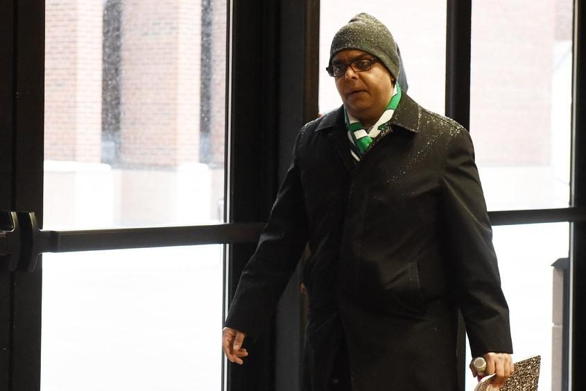 Ramiz Hajratalli arrives for jury selection earlier this month.