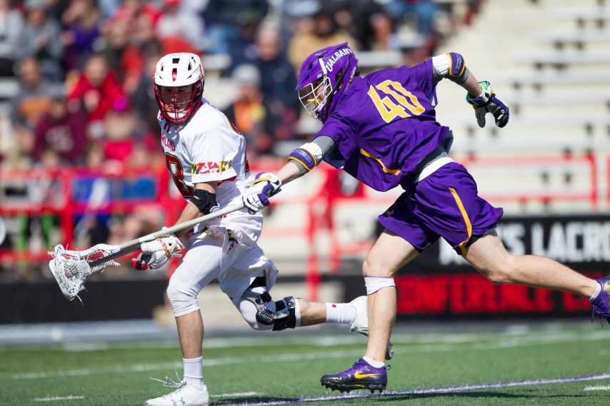 Despite its No. 1 ranking, the University at Albany men's lacrosse team has little room for error.