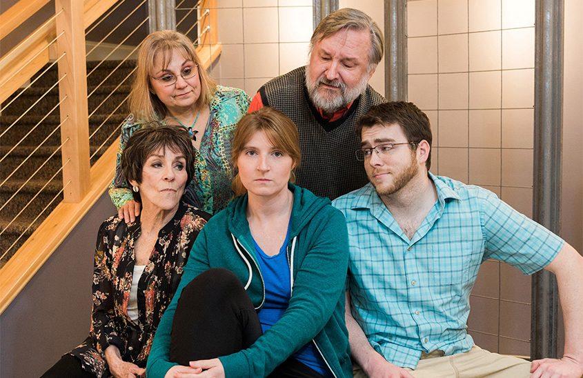 Clockwise from top left: Patti Noble, Rick Reed, James Gavin, Ellen Cribbs and Pat Brady.