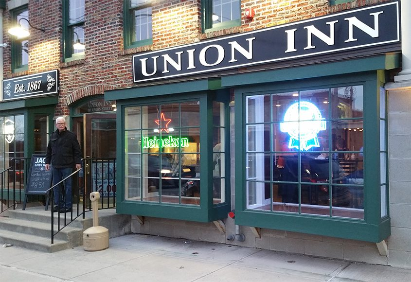 The Union Inn Bar & Grill, closed in 2014 due to water damage, has reopened under new ownership.