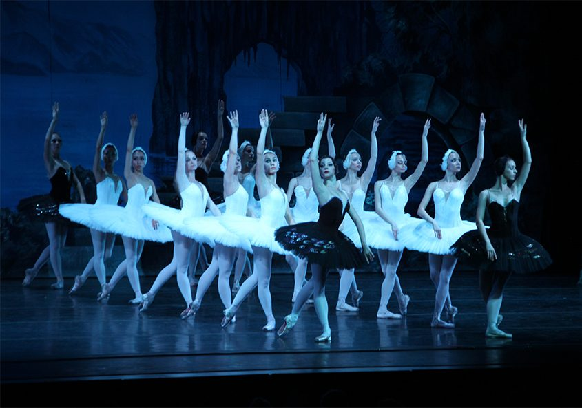 """The Moscow Festival Ballet performs """"Swan Lake."""""""