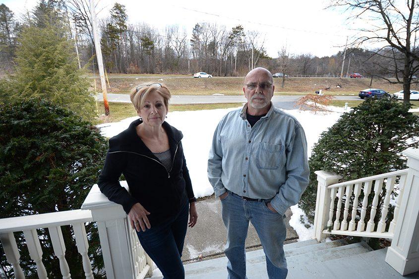 Bob and Sheila DiSarro are seen at their Niskayuna home.