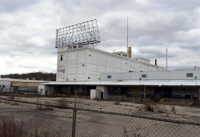 The former Beech-Nut factory in Canajoharie is shown in November 2017.