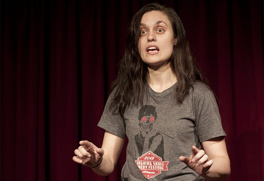 Julie Kottakis is a New York City-based comedian.