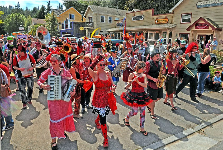 The city of Occidental, Calif., annually hosts a Fool's Day Parade.