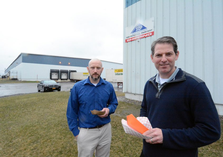 Specialty Quality Packaging in Building 602 in Glenville Business and Technology Park, at right, is going to buy and renovate Bu