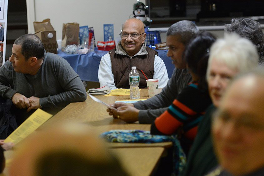 Members of Schenectady Landlords Influencing Change are seen at a meeting on Jan. 7, 2015.