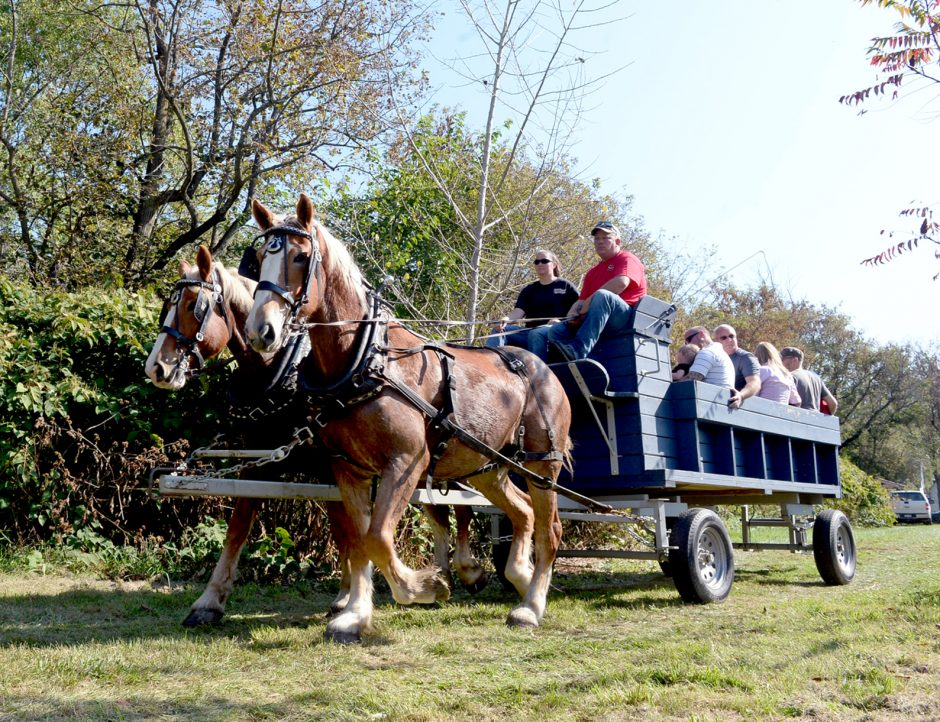 The Schenectady County Fall Foliage Festival at the Mabee Farm Historic Site in Rotterdam Junction last year.