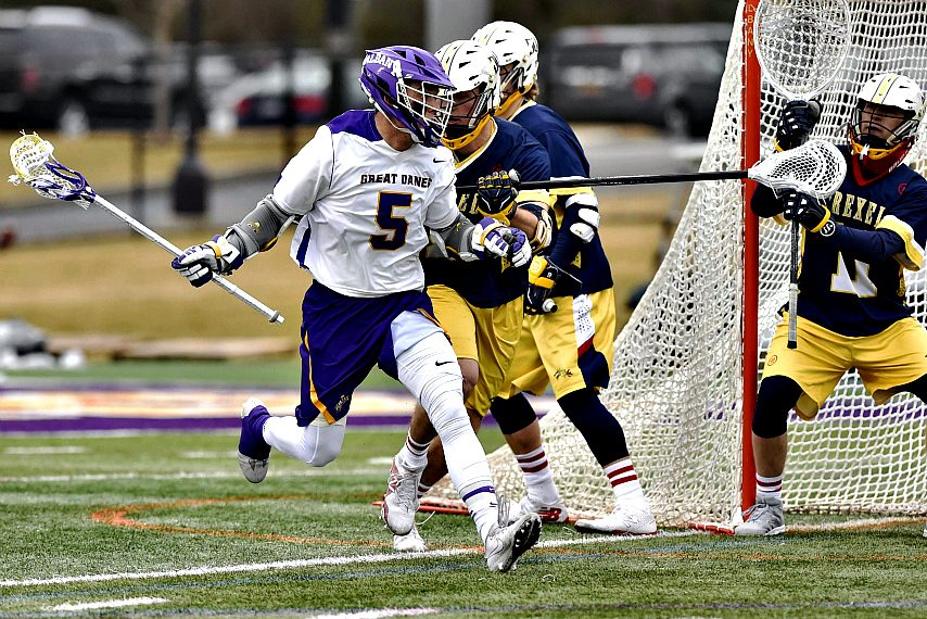 Connor Fields was picked No. 3 in the MLL draft.