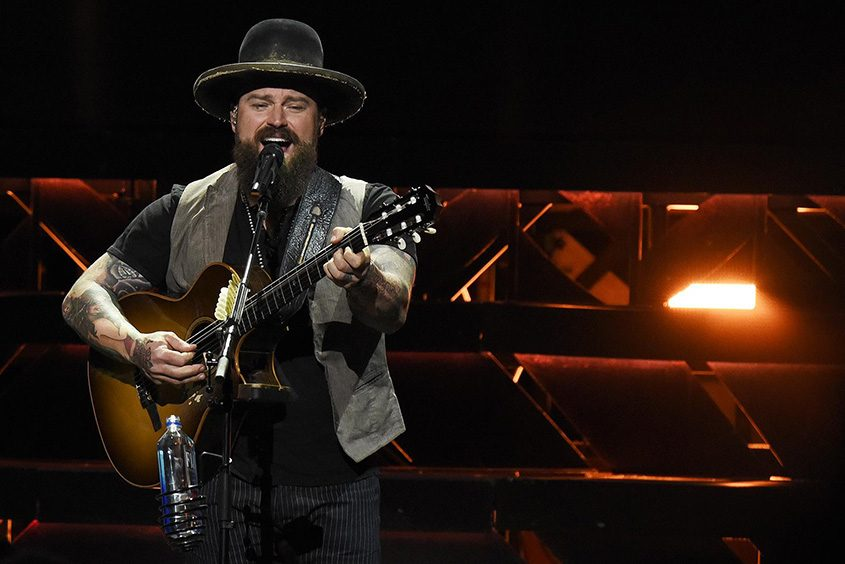 Zac Brown performs at SPAC in this file photo.