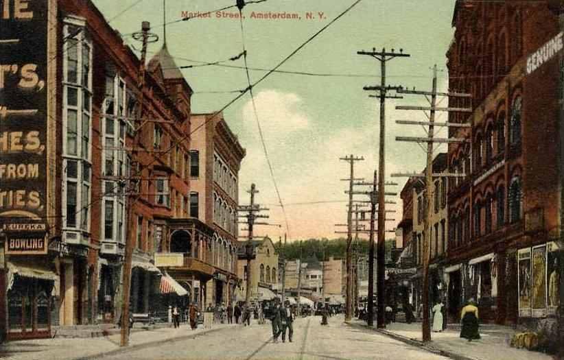 Amsterdam's Market Street in 1909.