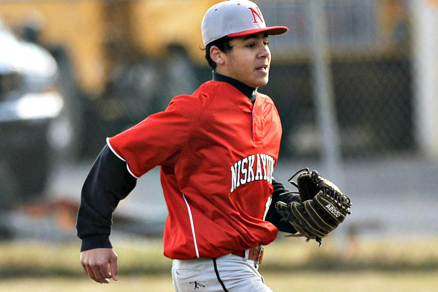 Niskayuna's Aaron Whitley is off to a great start in his first varsity baseball season.