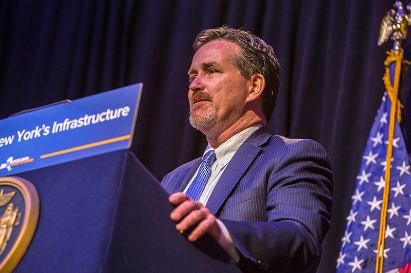 John J. Flanagan, the New York State Senate majority leader, is seen in May.