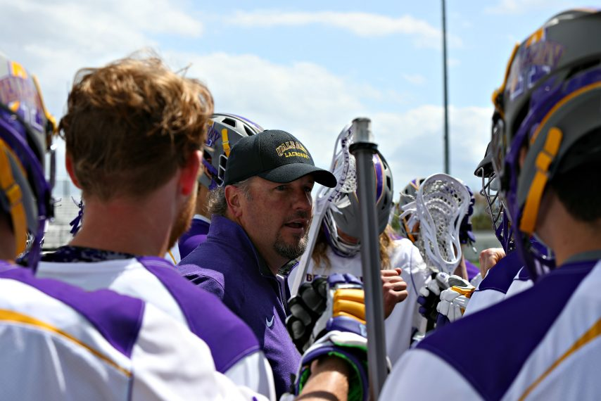 Scott Marr has built a consistent winner with UAlbany men's lacrosse.