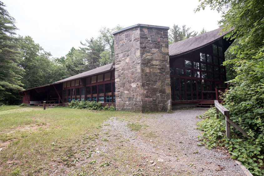 A building at Camp Boyhaven in Milton is pictured in 2017.
