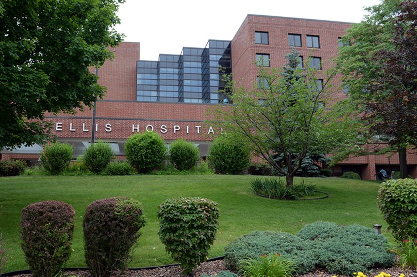 Ellis Medicine is proposing a primary/urgent care clinic at Mohawk Harbor, less than a mile from the Nott Street hospital.