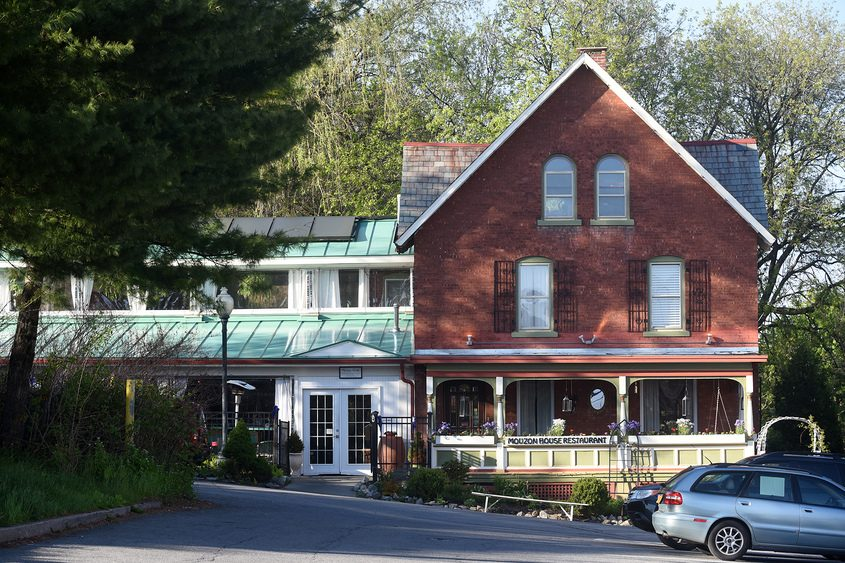 The Mouzon House restaurant in Saratoga Springs is shown in 2016.