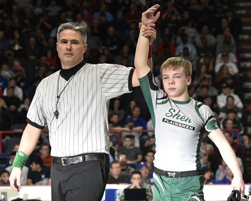 Shenendehowa freshman Stevo Poulin is a Pan American wrestling champion.