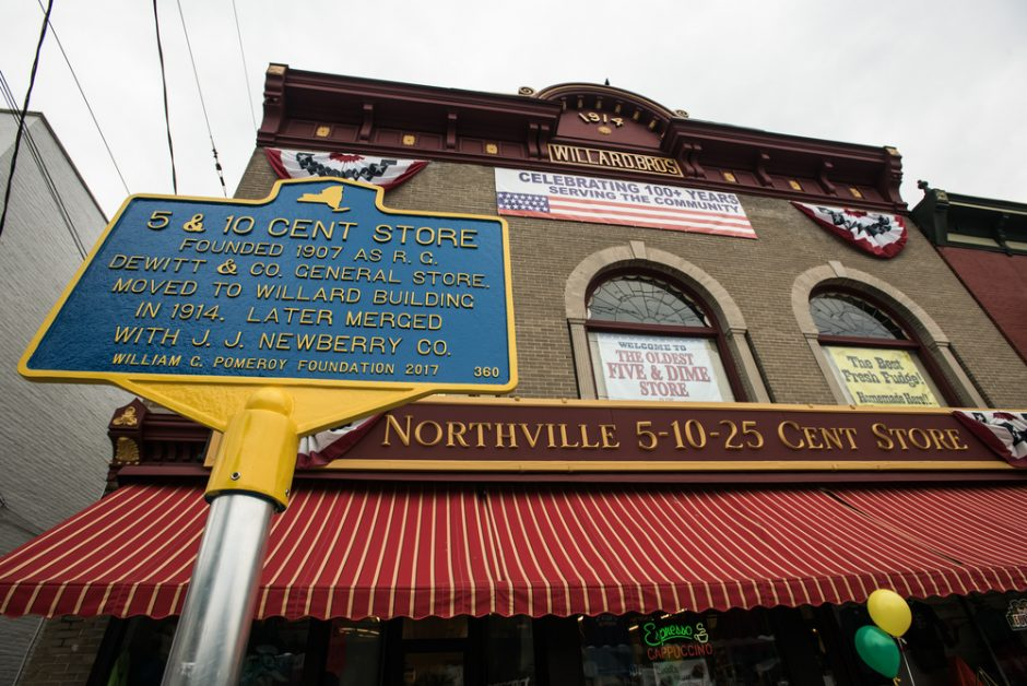 The Five and Dime Store in Northville, NY celebrates 110 years in business this year.