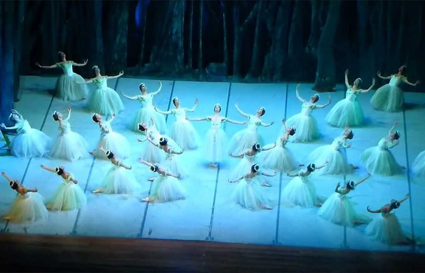"""The National Ballet of Cuba performing """"Giselle."""""""