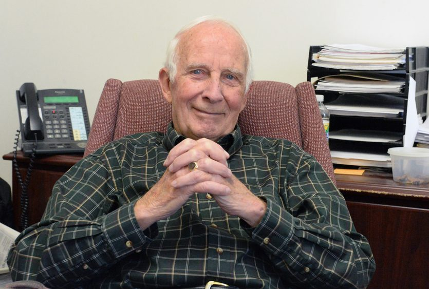 Walter L. Robb, former director of GE Global Research in Niskayuna, is pictured.